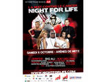 Night For Life : les artistes se bougent contre le cancer