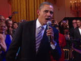 Barack Obama, quel crooner !