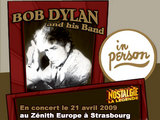Bob Dylan en concert  Strasbourg