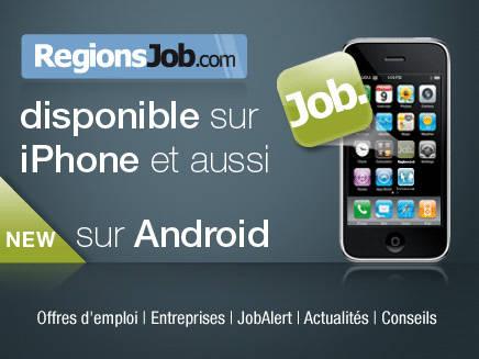 RegionsJob sur votre mobile