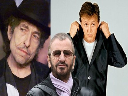 McCartney, Starr et Dylan réunis sur scène